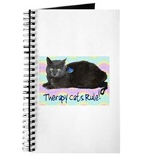 """Therapy Cats Rule!"" Journal"