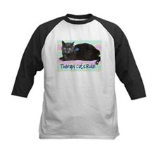 """Therapy Cats Rule!"" Tee"