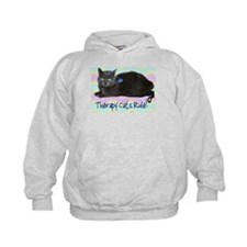 """""""Therapy Cats Rule!"""" Hoodie"""