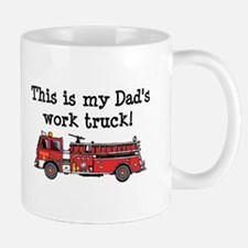 My Dad's Fire Truck Mug