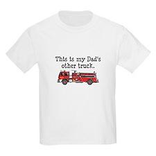 Dads Firetruck T-Shirt