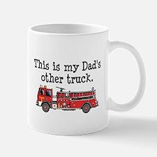 Dads Firetruck Mug