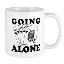 Euchre Going Alone/Loner Mug