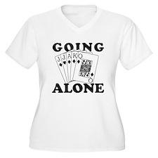 Euchre Going Alone/Loner T-Shirt