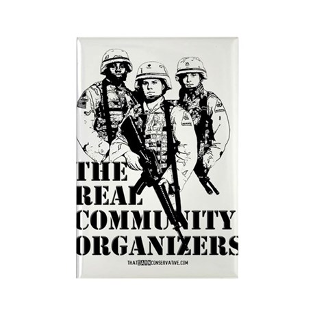 The REAL Community Organizers Rectangle Magnet