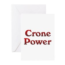 Crone Power Greeting Cards (Pk of 10)