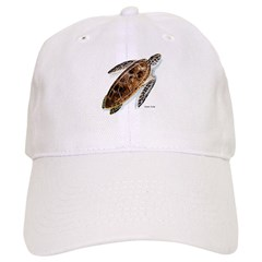 Green Turtle Cap