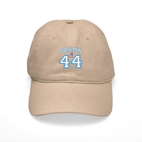 OBAMA 44 with Flag Cap