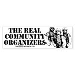 The REAL Community Organizers Sticker (Bumper 10 p