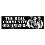 The REAL Community Organizers Bumper Sticker