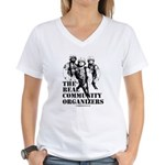 The REAL Community Organizers Women's V-Neck T-Shi