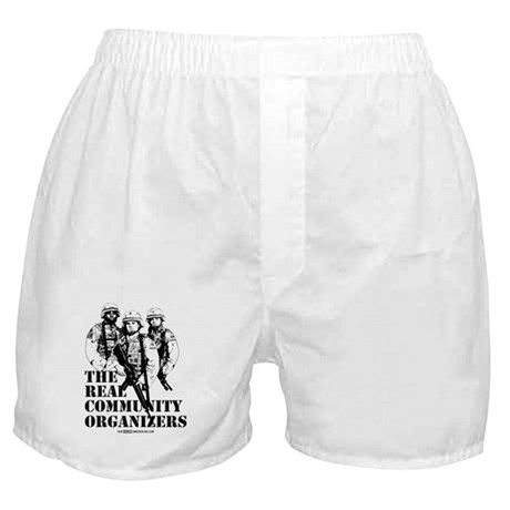 The REAL Community Organizers Boxer Shorts