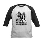 The REAL Community Organizers Kids Baseball Jersey