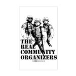 The REAL Community Organizers Rectangle Sticker