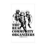 The REAL Community Organizers Rectangle Sticker 1