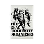 The REAL Community Organizers Rectangle Magnet (10
