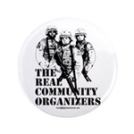 "The REAL Community Organizers 3.5"" Button (10"