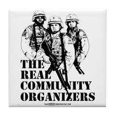 The REAL Community Organizers Tile Coaster