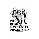 The REAL Community Organizers Mini Poster Print