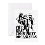 The REAL Community Organizers Greeting Cards (Pk o