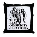 The REAL Community Organizers Throw Pillow