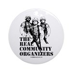 The REAL Community Organizers Ornament (Round)