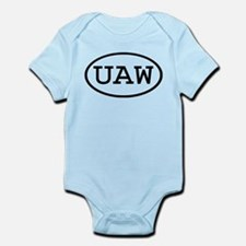 UAW Oval Infant Bodysuit