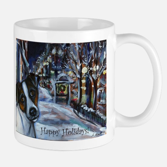 Jack Russell Terrier Holiday Mug