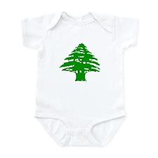 Green Cedar Tree Infant Creeper