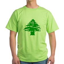 Green Cedar Tree T-Shirt