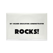 MY Higher Education Administrator ROCKS! Rectangle