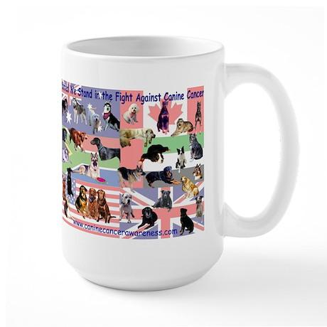 Canine Cancer Large Mug