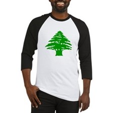 Green Cedar Tree Baseball Jersey