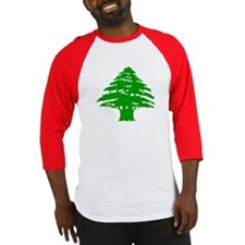 Green Cedar Tree Baseball Jersey