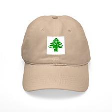 Green Cedar Tree Cap