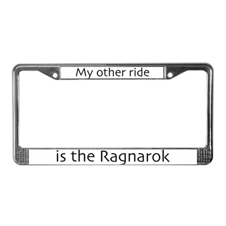 My other ride is the Ragnarok