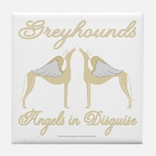 ANGELS IN DISGUISE TILE COASTER