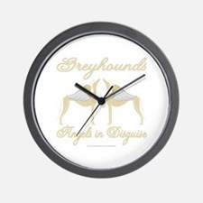 ANGELS IN DISGUISE WALL CLOCK