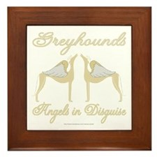 ANGELS IN DISGUISE FRAMED TILE PICTURE