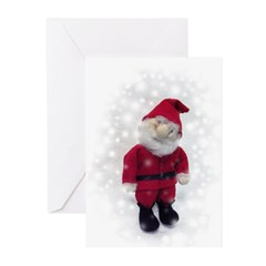 Elf Greeting Cards - tall, blank (Pk of 10)