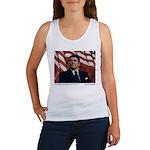 Reagan on Liberal Ignorance Women's Tank Top