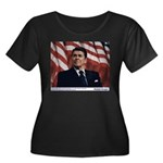 Reagan on Liberal Ignorance Women's Plus Size Scoo