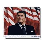 Reagan on Liberal Ignorance Mousepad