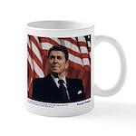 Reagan on Liberal Ignorance Mug