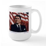 Reagan on Liberal Ignorance Large Mug