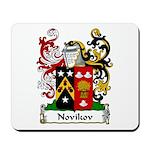 Novikov Family Crest Mousepad