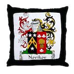 Novikov Family Crest Throw Pillow