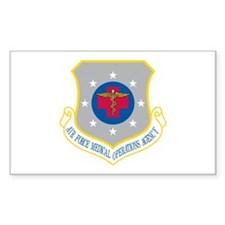 Medical Operations Rectangle Decal