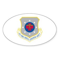 Medical Operations Oval Decal