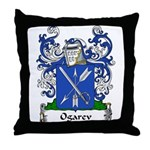 Ogarev Family Crest Throw Pillow